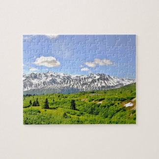 """8"""" x 10"""" Puzzle 110 pieces of Alaska country side"""