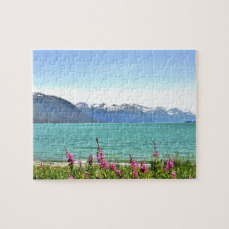 """8"""" x 10"""" Puzzle 110 pieces of Alaska countryside"""