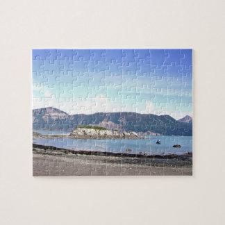 "8"" x 10"" Puzzle 110 pieces of Lake Clark Alaska"