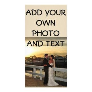 8 X 4 WEDDING PHOTO POSTCARD