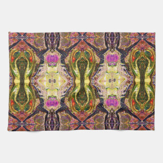 8 Yoga Warriors Kitchen Towel by Deprise