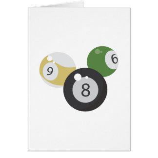 8Ball Base Greeting Card