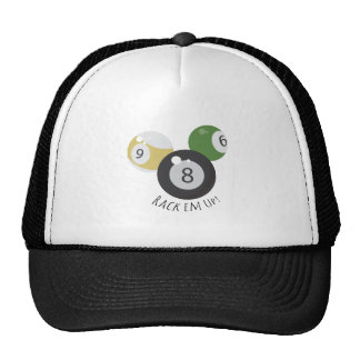 8Ball Rackem Mesh Hats