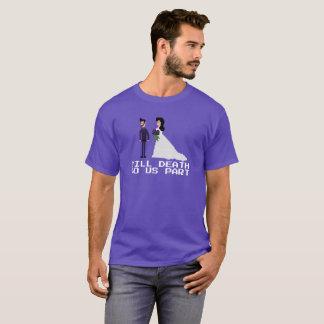 8bit Geek Gothic Til Death Do Us Part Wedding T-Shirt