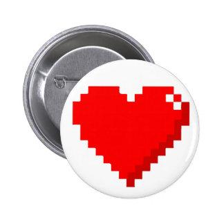 8bit Heart Button