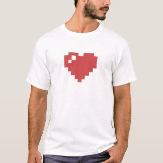 8bit Heart Tshirt