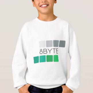 8byte Kid's White Sweatshirt
