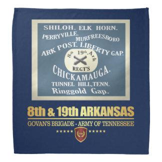 8th & 19th Arkansas Infantry (F10) Bandana