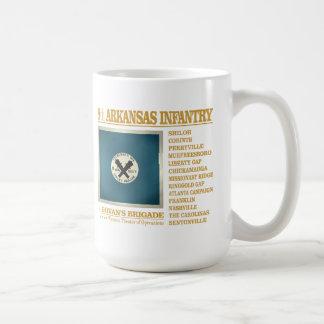 8th Arkansas Infantry (BA2) Basic White Mug