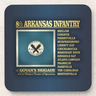 8th Arkansas Infantry (BA2) Beverage Coaster