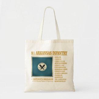 8th Arkansas Infantry (BA2) Budget Tote Bag