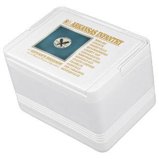8th Arkansas Infantry (BA2) Igloo Cool Box