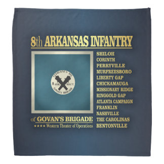 8th Arkansas Infantry (BA2) Kerchief