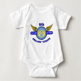 "8TH ARMY AIR FORCE ""ARMY AIR CORPS"" WW II BABY BODYSUIT"