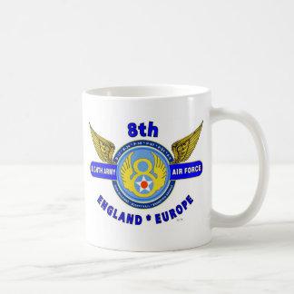 "8TH ARMY AIR FORCE ""ARMY AIR CORPS"" WW II COFFEE MUG"
