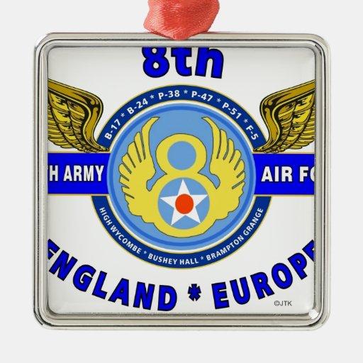 "8TH ARMY AIR FORCE ""ARMY AIR CORPS"" WW II ORNAMENT"