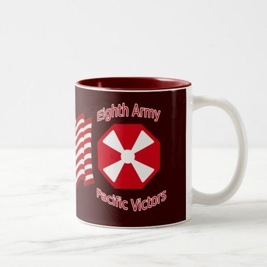 8th Army Two-Tone Coffee Mug