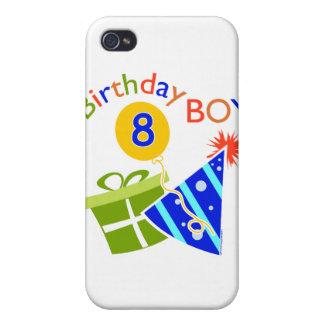 8th Birthday - Birthday Boy Case For iPhone 4