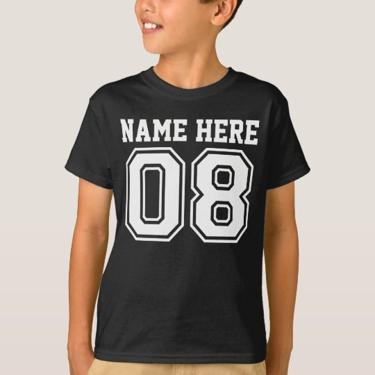 8th Birthday (Customisable Kid's Name) T-Shirt
