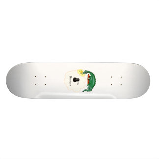 8th Birthday Dragon Skate Deck