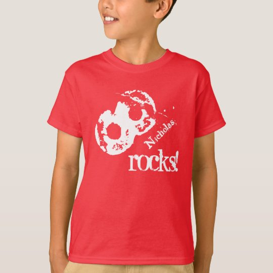 8th Birthday Gift for 8 Year Old Custom Name V06 T-Shirt