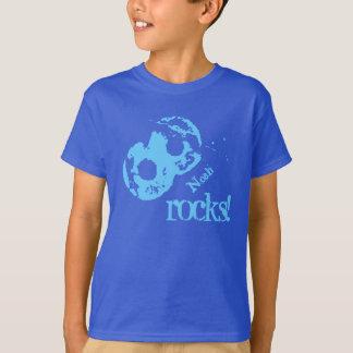 8th Birthday Gift for 8 Year Old Custom Name V23 T-Shirt