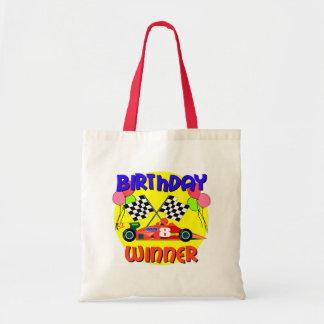 8th Birthday Race Car Birthday Tote Bag