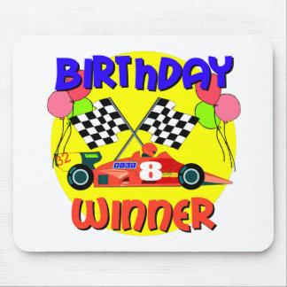 8th Birthday Race Car Birthday Mousepad