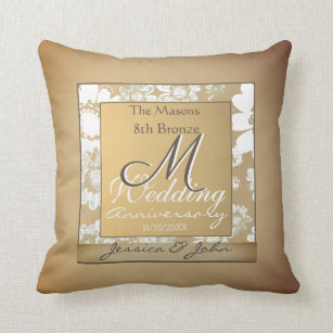 8th Wedding Anniversary Gifts Zazzle Co Uk