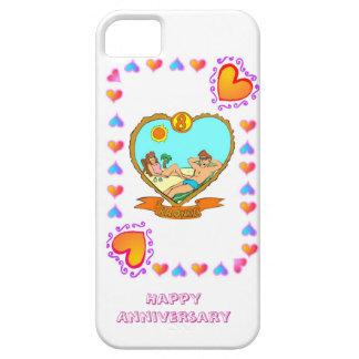 8th bronze wedding anniversary, iPhone 5 cover