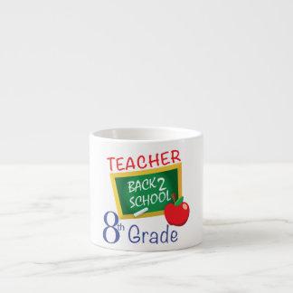 8th Grade Teacher Espresso Mug
