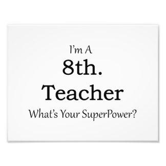 8th. Grade Teacher Photograph