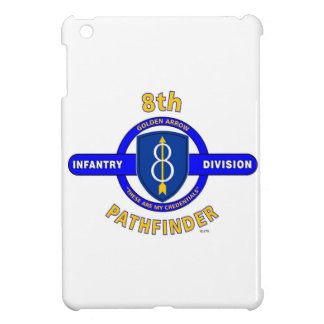 "8TH INFANTRY DIVISION ""PATHFINDER"" iPad MINI CASE"