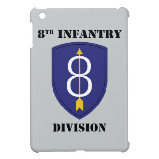8th infantry Division With Text iPad Mini Cover