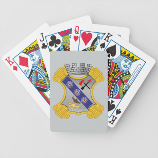 8th Infantry Regiment - DUI Bicycle Poker Cards