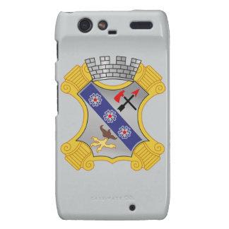 8th Infantry Regiment - DUI Motorola Droid RAZR Cases