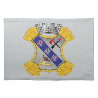 8th Infantry Regiment - DUI Cloth Place Mat