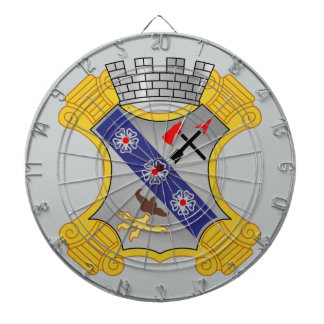 8th Infantry Regiment - DUI Dartboard With Darts