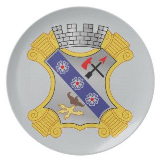 8th Infantry Regiment - DUI Dinner Plates