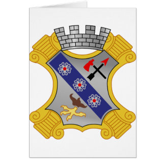 8th Infantry Regiment - DUI Greeting Card