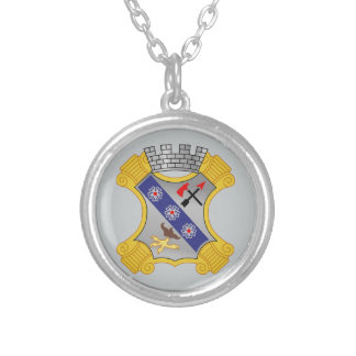 8th Infantry Regiment - DUI Round Pendant Necklace