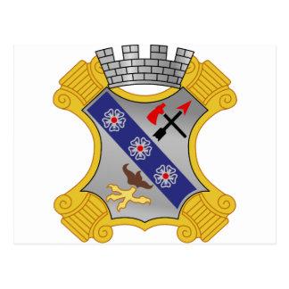 8th Infantry Regiment - DUI Postcard
