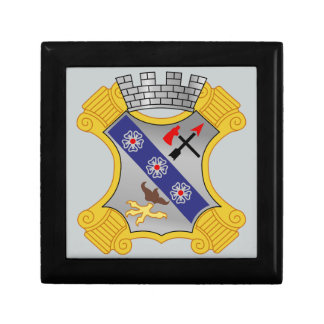 8th Infantry Regiment - DUI Small Square Gift Box
