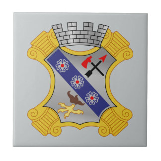 8th Infantry Regiment - DUI Small Square Tile