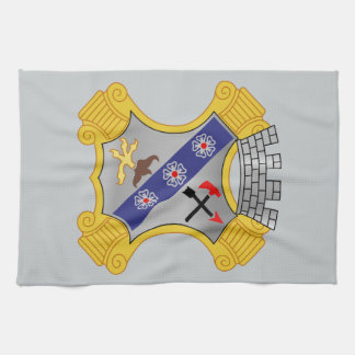 8th Infantry Regiment - DUI Hand Towels