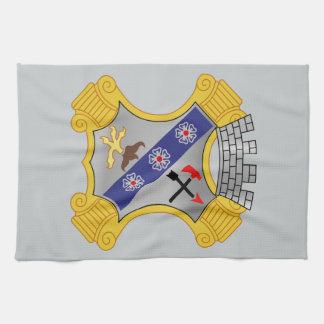 8th Infantry Regiment - DUI Tea Towels