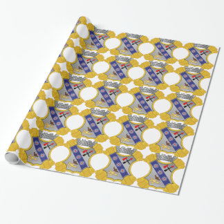 8th Infantry Regiment - DUI Wrapping Paper