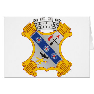 8th Infantry Regiment Greeting Card