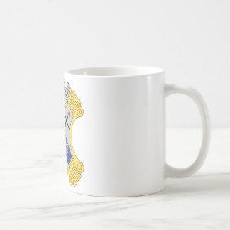 8th Infantry Regiment Patch Basic White Mug