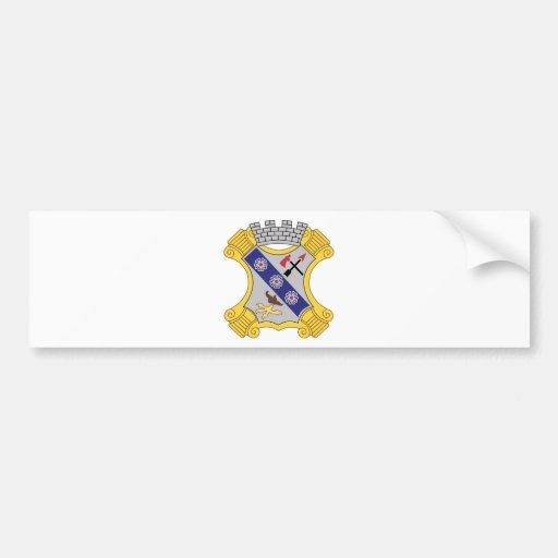 8th Infantry Regiment Patch Bumper Sticker